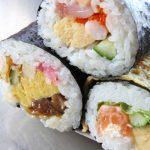 恵方巻き(巻き寿司)のカロリー糖質は?太らない食べ方5つのポイント