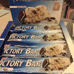 激旨おすすめ海外プロテインバー!ビクトリーバークッキー&クリーム味
